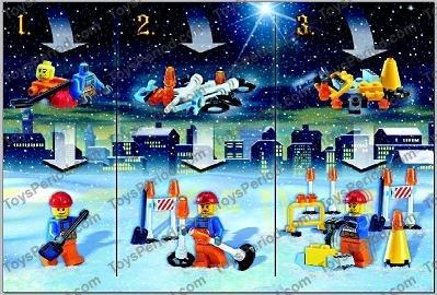 lego 7904 2 advent calendar 2006 city day1 construction. Black Bedroom Furniture Sets. Home Design Ideas