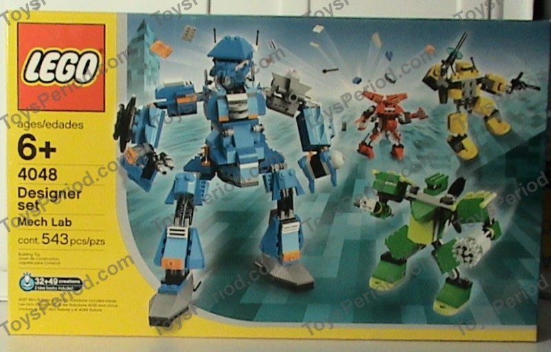 Kohl S Toys Boys 5 7 : Lego mech lab kohl s exclusive set parts inventory