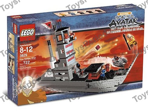 Lego Fire Nation Soldier 3828 3829 Fire Nation Ship Avatar Minifigure RARE NEW