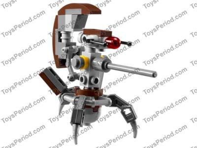 Lego Star War 75002 AT-RT Clone Walker 501st Trooper Yoda Sniper /& Droid NEW