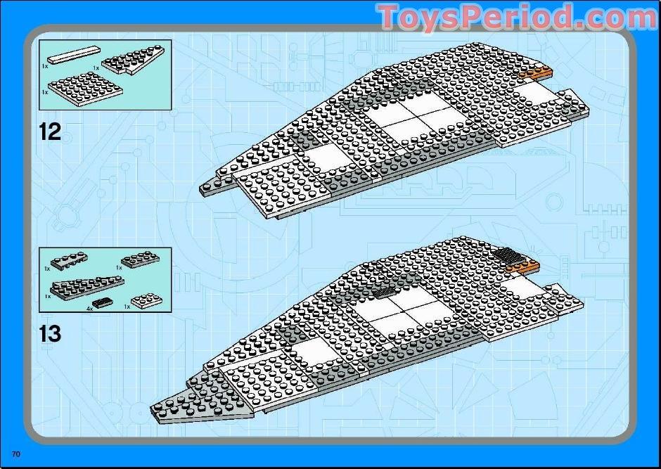lego ucs snowspeeder instructions