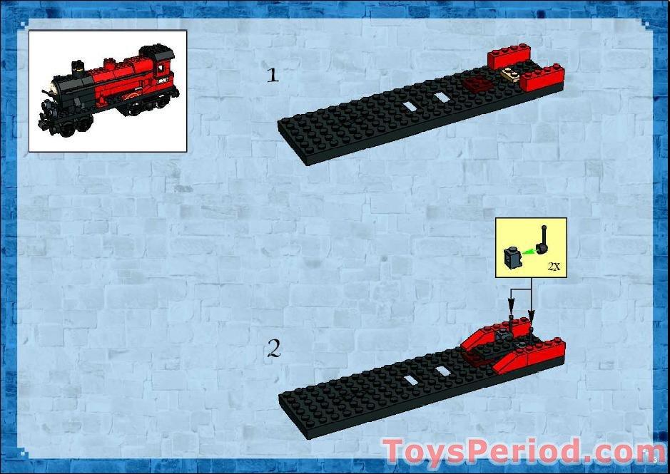 Lego Building Instructions Hogwarts Train