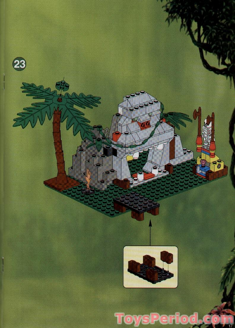 Lego 5976 River Expedition Set Parts Inventory And