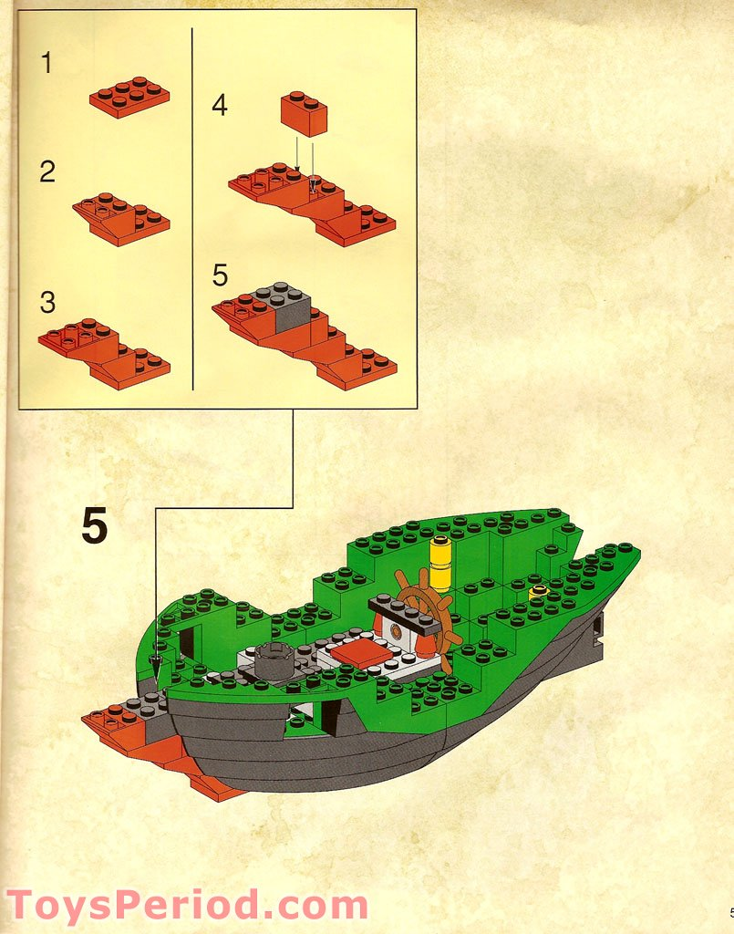 lego  cross bone clipper set parts inventory  instructions lego reference guide