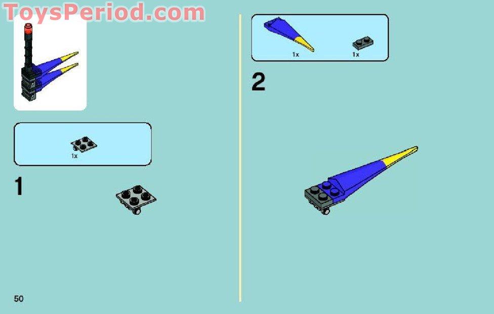 8115 Instruction Nr LEGO® Bauanleitung