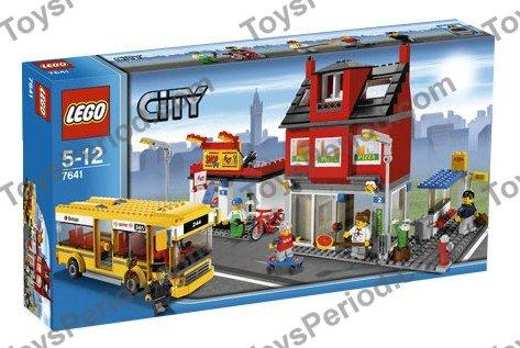 Lego 7641 City Corner Set Parts Inventory And Instructions Lego