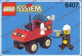 LEGO 6407 Fire Chief