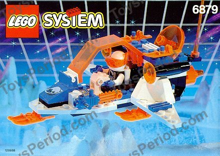 Lego 6879 Blizzard Baron Set Parts Inventory And