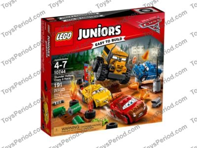 Lego 10744 Thunder Hollow Crazy 8 Race Set Parts Inventory And
