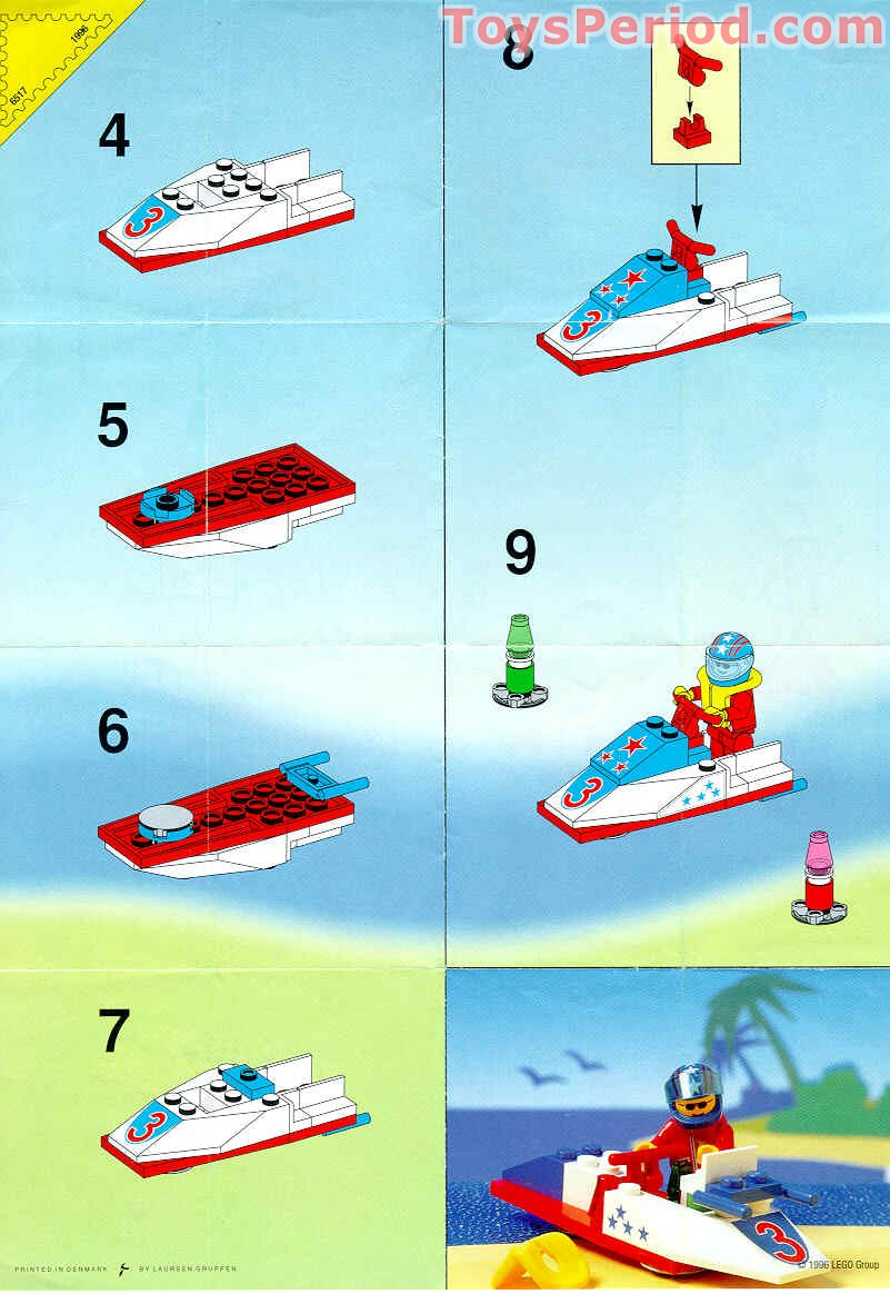 lego classic boat instructions