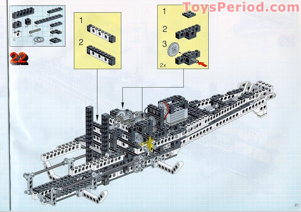 lego technic space shuttle parts list - photo #22