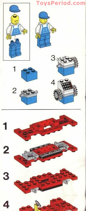 Lego 6655 Auto And Tire Repair Set Parts Inventory And
