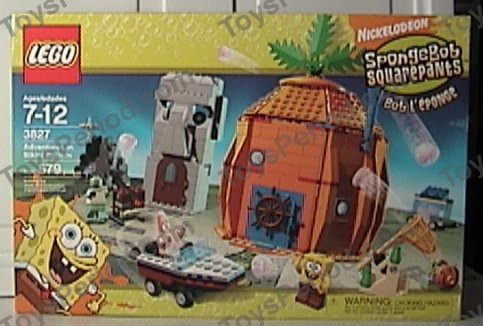 Lego 3827 Adventures In Bikini Bottom Set Parts Inventory And
