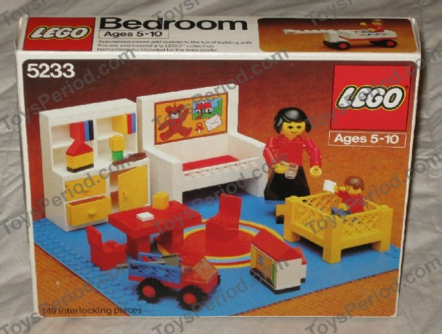 LEGO 5233 1 Bedroom Image 6  LEGO 5233 1 Bedroom Set Parts Inventory and  Instructions. Lego Bedroom Set   makitaserviciopanama com