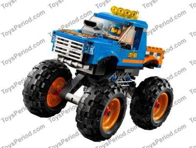 Lego 60180 Monster Truck Set Parts Inventory And Instructions Lego