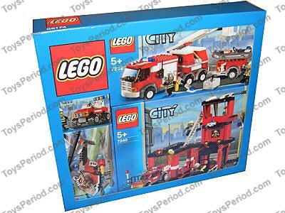 lego fire truck instructions 7239