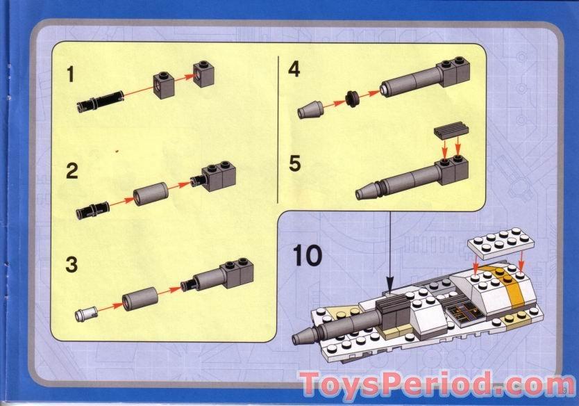 lego sith nightspeeder instructions