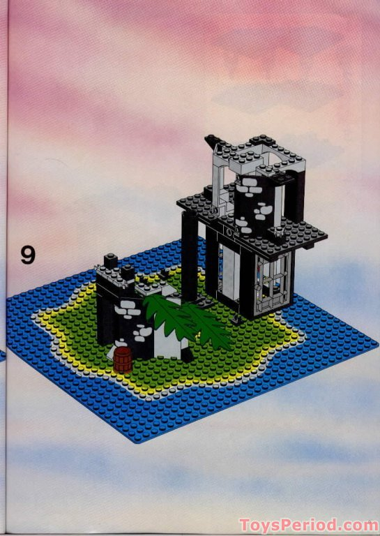 lego 6270 forbidden island set parts inventory and