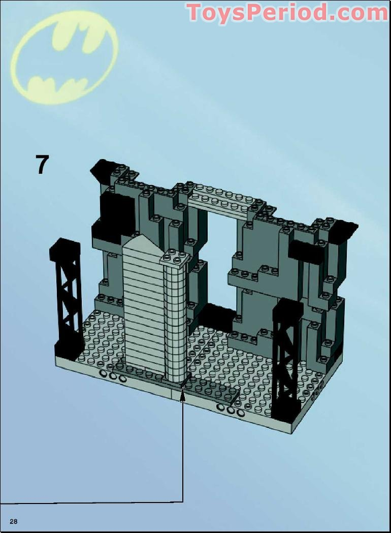 lego batman mr freeze instructions