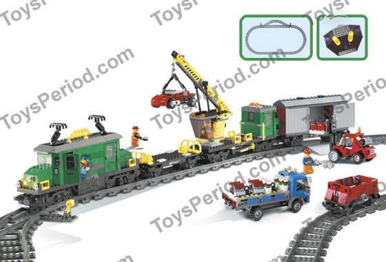 lego cargo train deluxe instructions