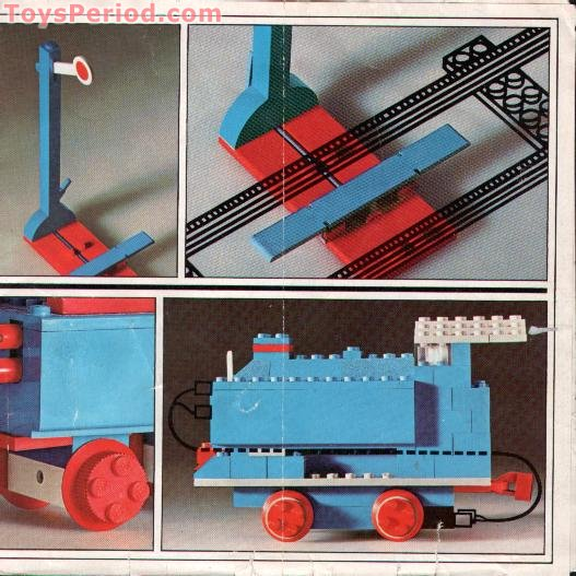 Lego 156 1 2 Signals With Automatic Stop Or Go Attachment