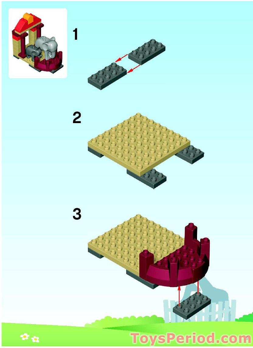 how to build a lego zoo