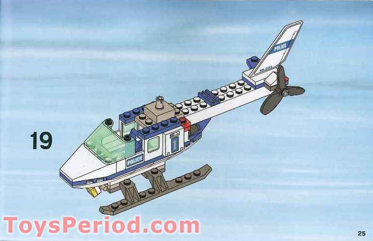Lego City Mini Police Helicopter Instructions The Best Helicopter