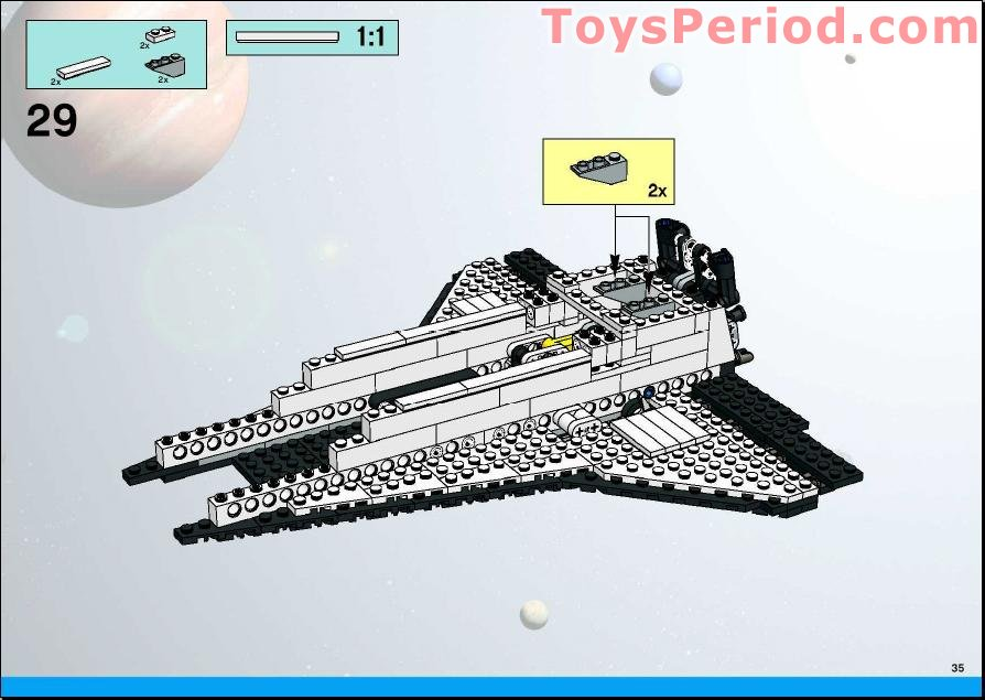 lego space shuttle parts list - photo #12
