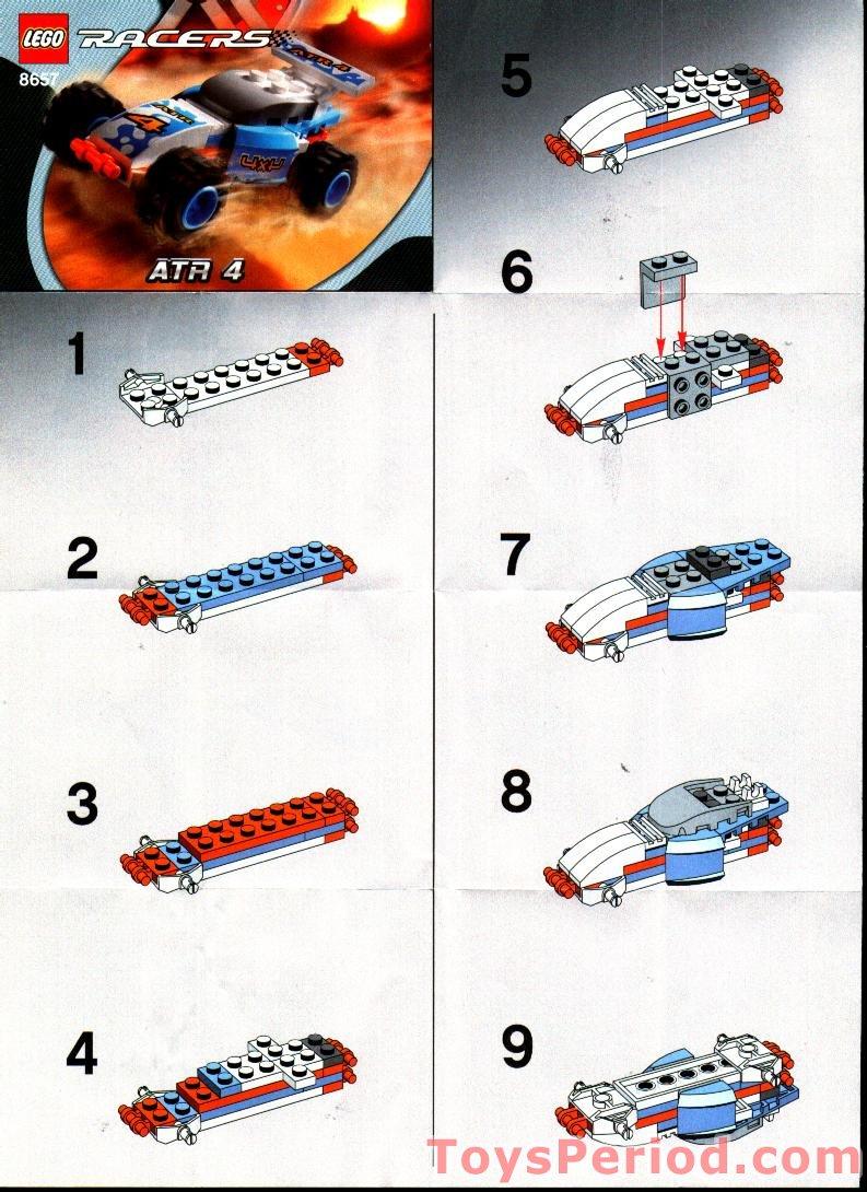 Lego 8657 Atr 4 Set Parts Inventory And Instructions