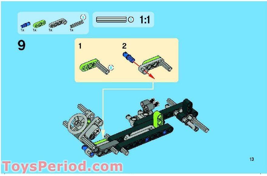 lego technic race kart instructions