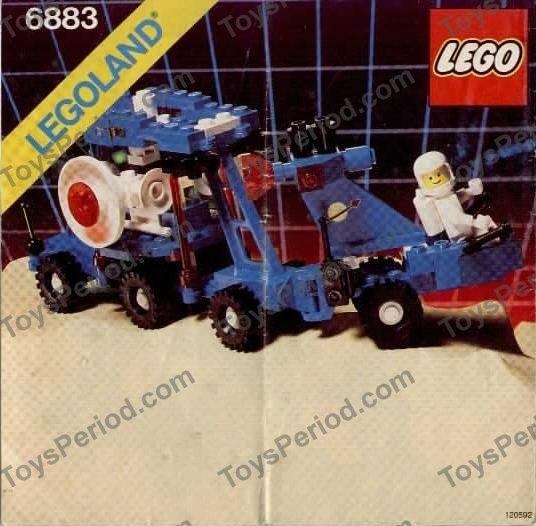 LEGO 6883 Terrestrial Rover Image 2