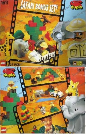 lego duplo safari instructions