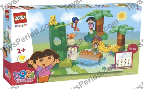 dora mega bloks instructions