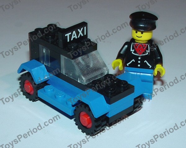 Lego 608 2 Taxi Set Parts Inventory And Instructions Lego