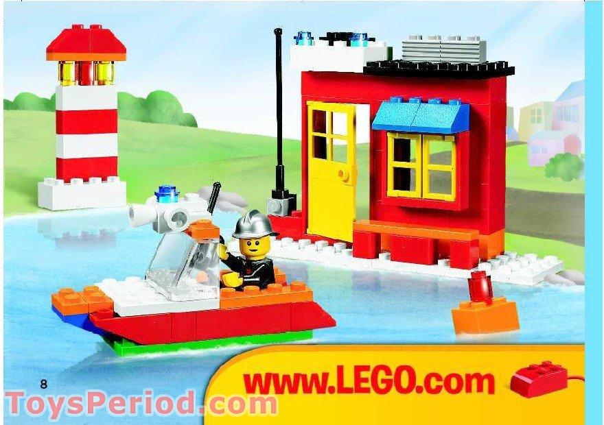basic lego house instructions