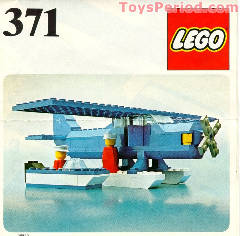 Lego 371 3 Seaplane Set Parts Inventory And Instructions