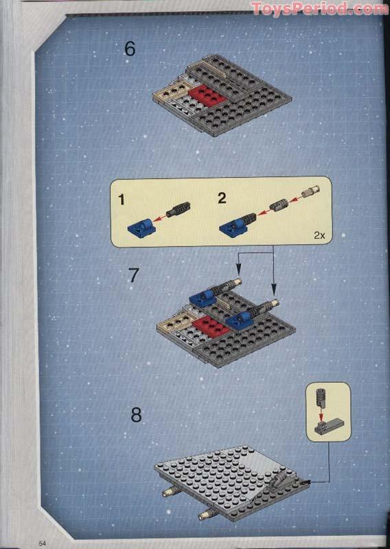 Lego 4483 1 At At Black Box Set Parts Inventory And Instructions