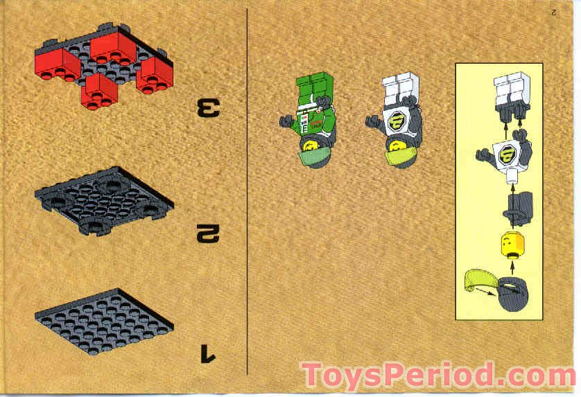 Lego 6897 Rebel Hunter Set Parts Inventory And Instructions Lego