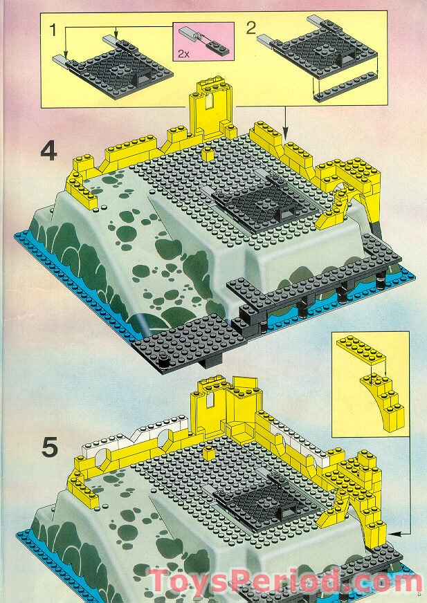 lego 6276 eldorado fortress set parts inventory and instructions lego reference guide. Black Bedroom Furniture Sets. Home Design Ideas