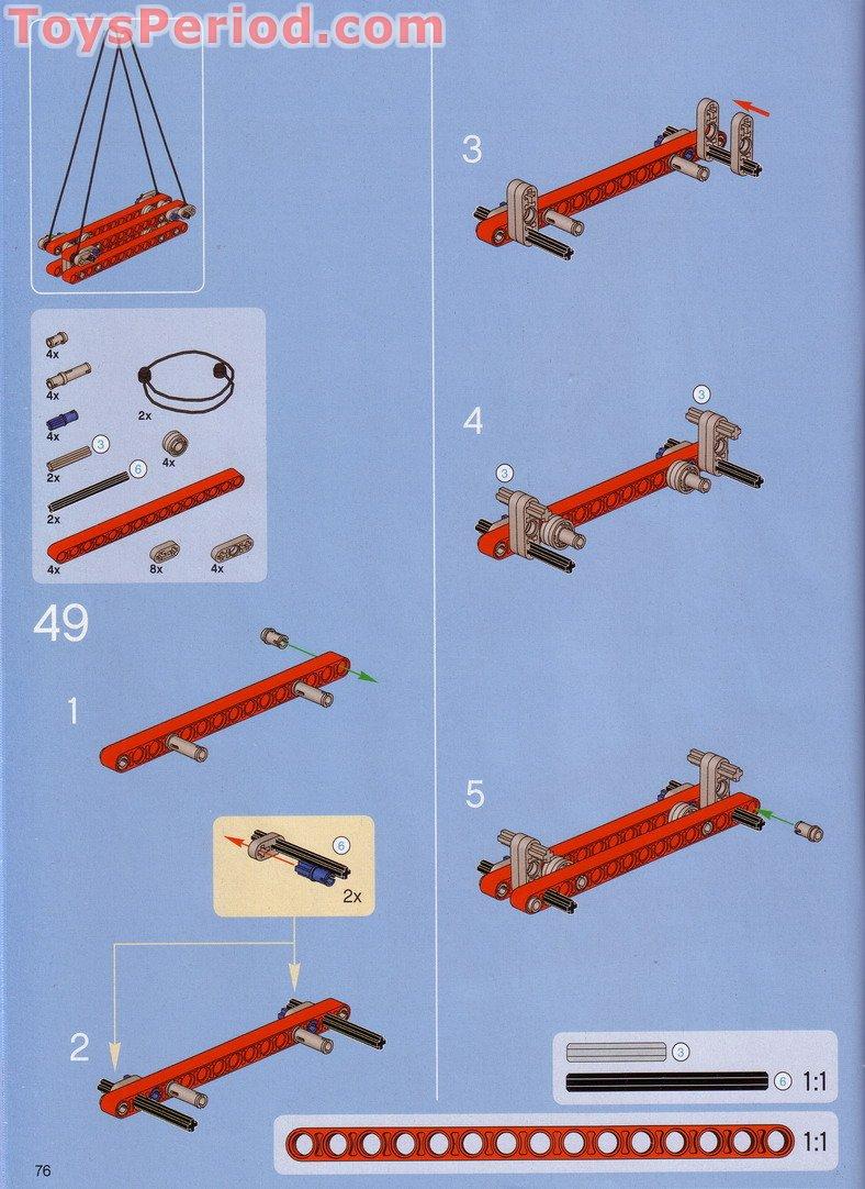 lego crawler crane instructions