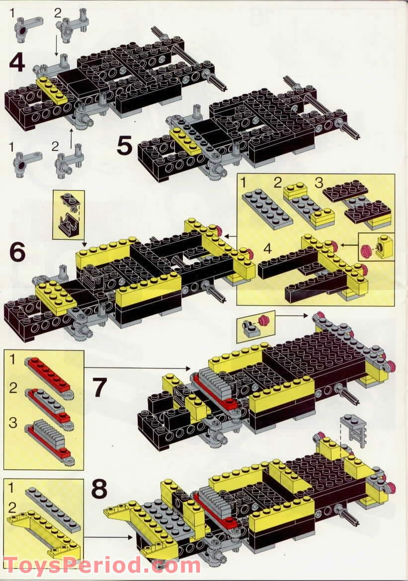 Lego 5510 Off Road 4x4 Set Parts Inventory And Instructions Lego Reference Guide