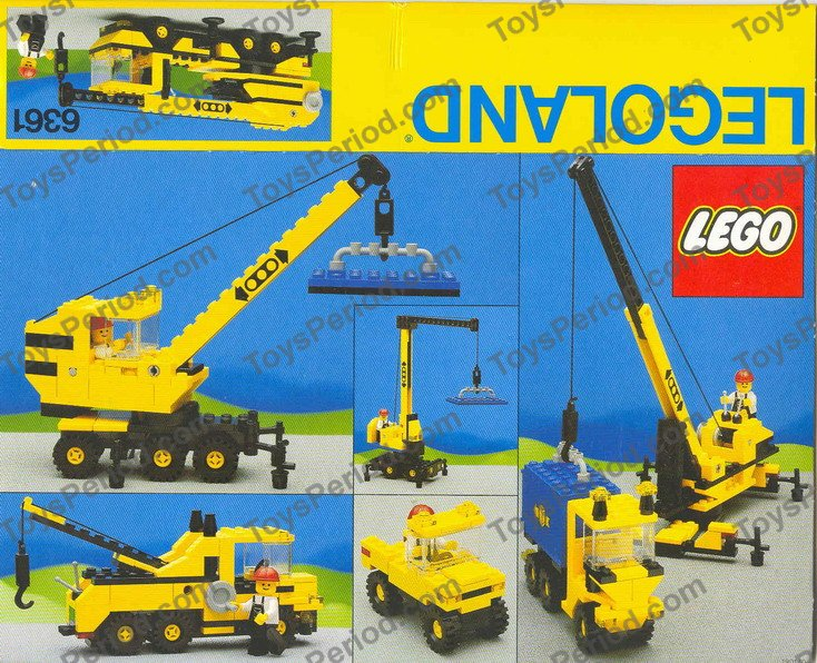 Lego 6361 Mobile Crane Set Parts Inventory And