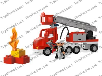 Lego 5682 Fire Truck Set Parts Inventory And Instructions Lego