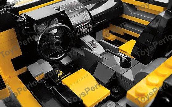 Lego 8169 Lamborghini Gallardo Lp 560 4 Set Parts Inventory And