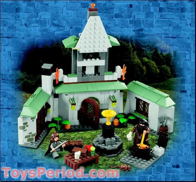 Lego 4754 Hagrid S Hut 2nd Edition Set Parts Inventory