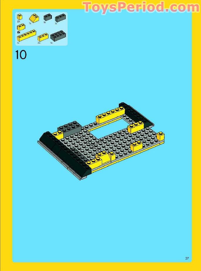 lego creator beach house instructions