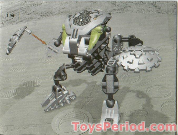 Lego 8573 Nuhvok Kal Set Parts Inventory And Instructions