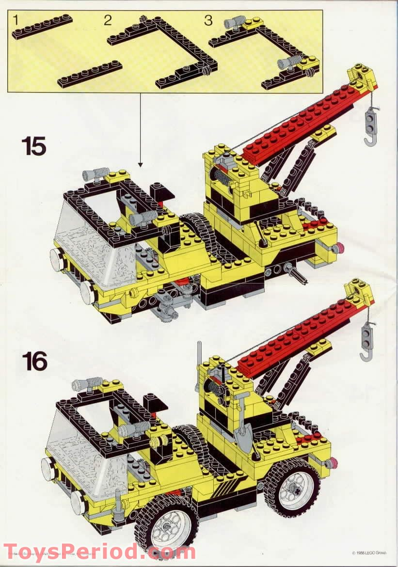 Lego 5510 Off Road 4x4 Set Parts Inventory And Instructions Lego