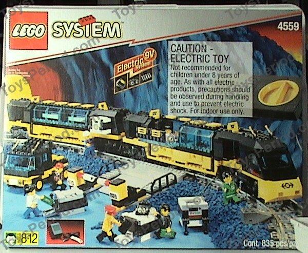 Lego 4559 Cargo Railway Set Parts Inventory And