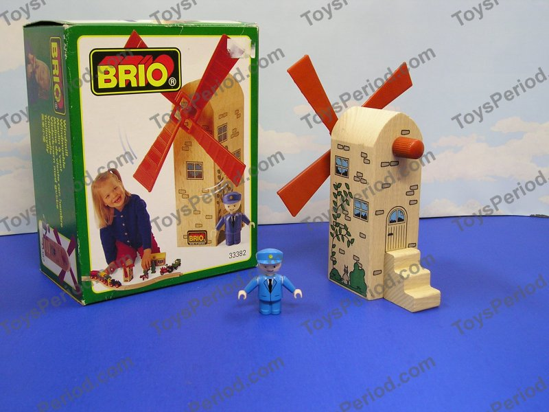Brio Brio 33382 Windmill Wooden Railway Accessory Set Sweden New